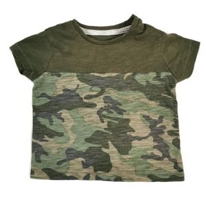 🔥10/$20 Green and Camo T-Shirt 3-6m